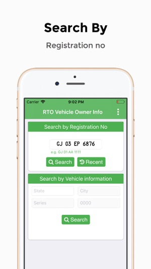 RTO Vehicle Owner Information on the App Store