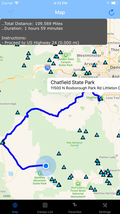 Colorado – Camping & RV spots screenshot-4