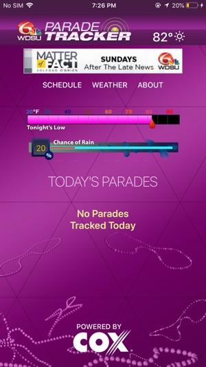 WDSU Parade Tracker on the App Store