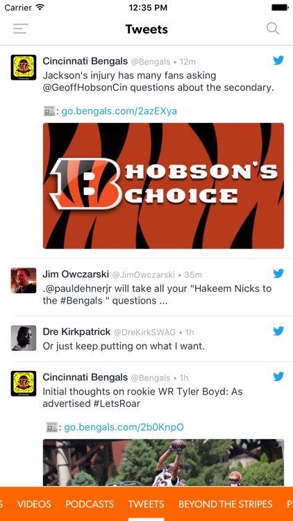 Cincinnati.com Bengals screenshot-2