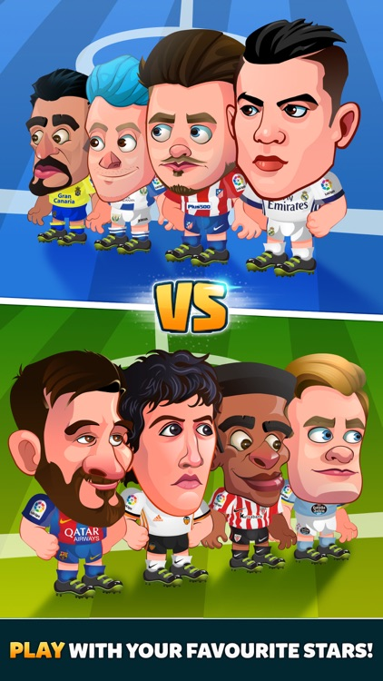 Head Soccer La Liga 2018 screenshot-1