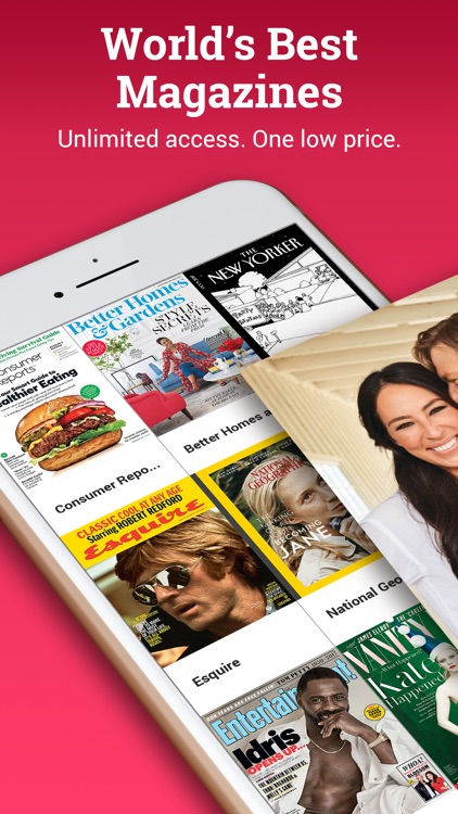 Texture – Unlimited Magazines screenshot-0