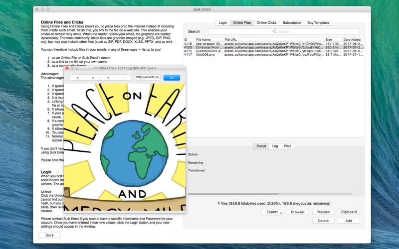 Bulk Email Screenshot - 3