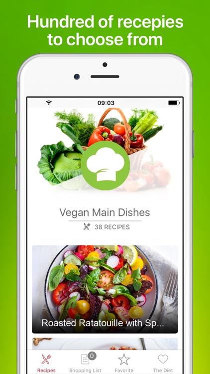 Vegan Recipes - Meal Planner
