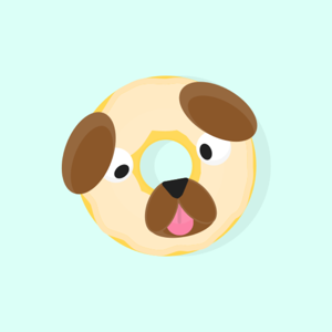 Donut Dog: Feed your focus! app