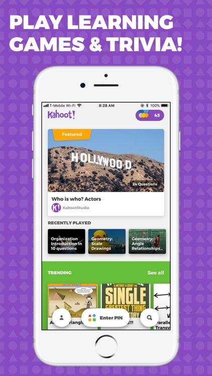 Kahoot! - Play Learning Games screenshot-0