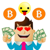 Bitcoin Moji-Crypto Stickers