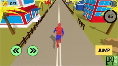 アメイジングスパイダースーパーヒーロー - 奇妙なランニングゲームのおすすめ画像2