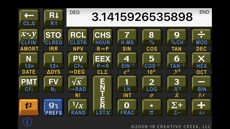 MathU RPN Calc screenshot-1