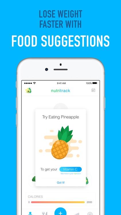 Nutritrack - Nutrition Tracker screenshot-3