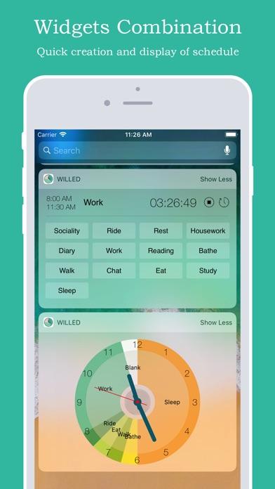 Willed Calendar Screenshots