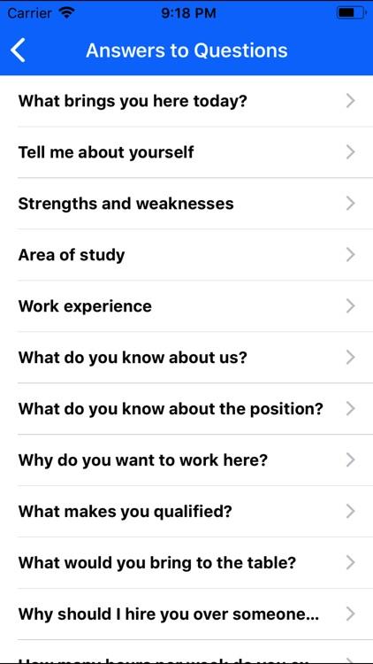 Job Interview Prep - SimuGator screenshot-3