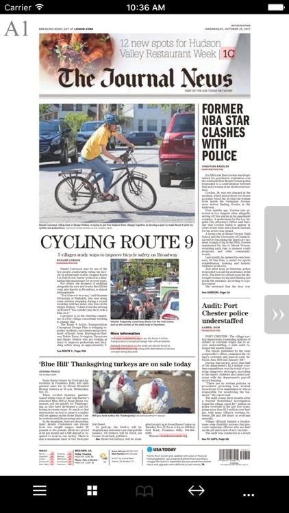 The Journal News Print Edition