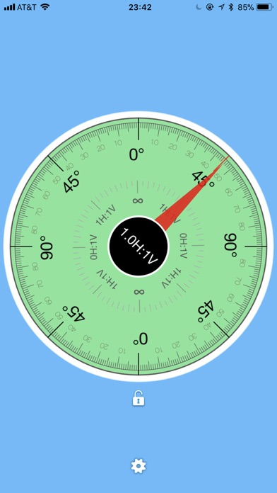 TiltMeter screenshot four