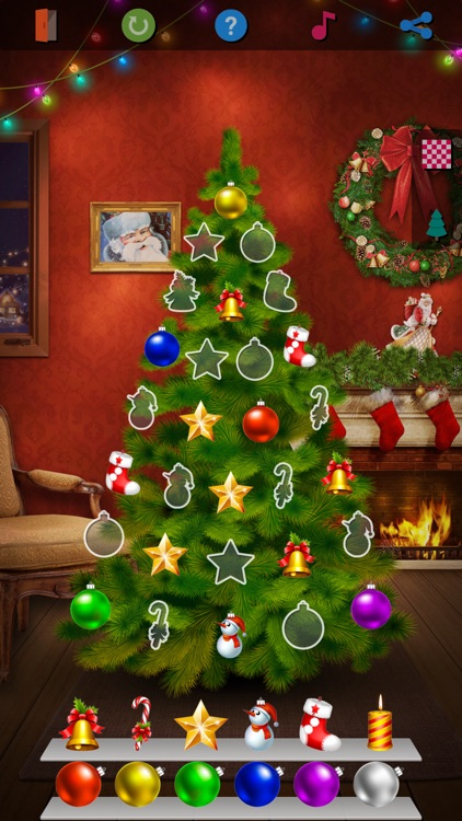 Christmas Tree - Match It Game screenshot-4