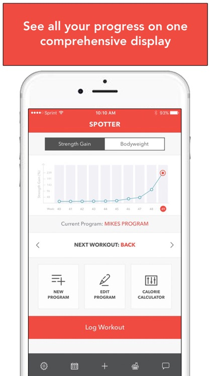 Spotter: Weightlifting Tracker