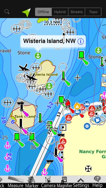 St. Clair GPS Nautical Charts screenshot-1