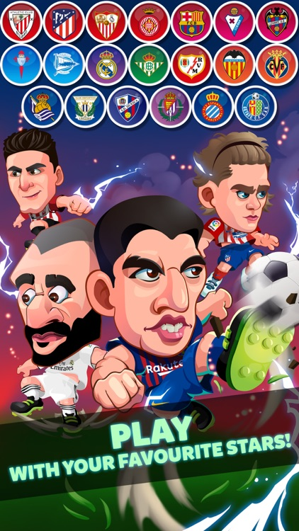 Head Soccer Games La Liga 2019 screenshot-2