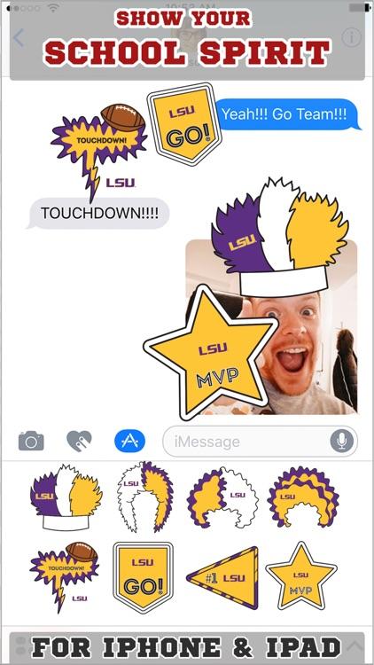 LSU Tigers Stickers Basic