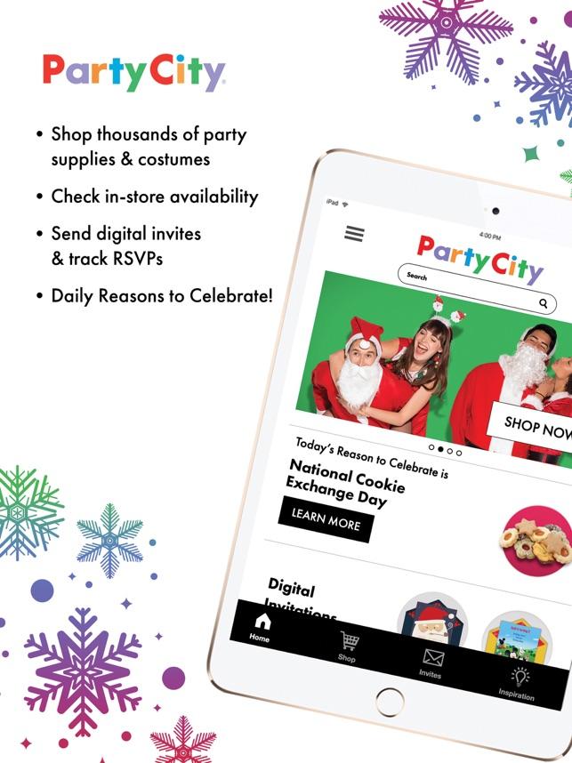 party city en app store