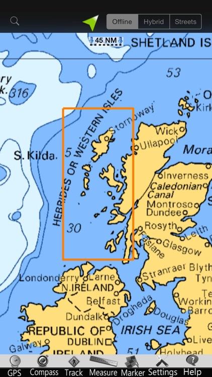 Hebrides GPS Nautical Charts