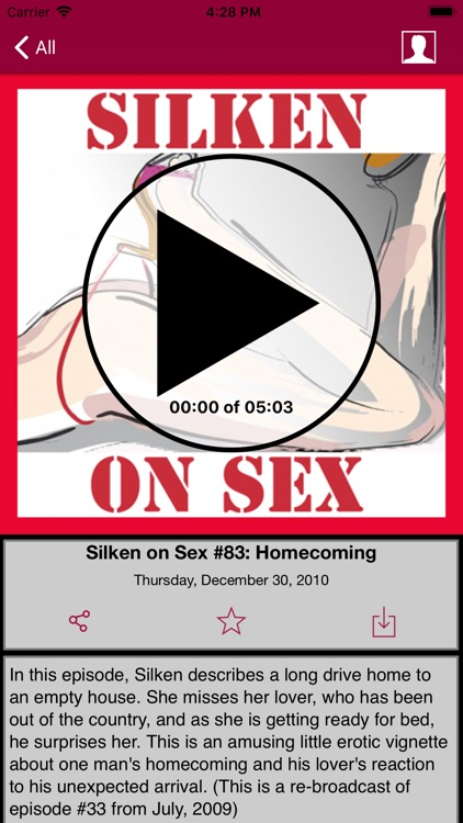 Silken On Sex App