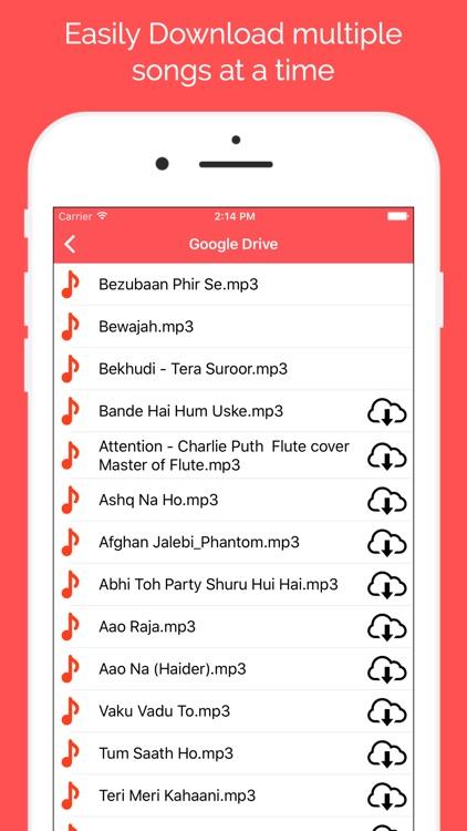 Cloud Music - MP3 Player screenshot-3