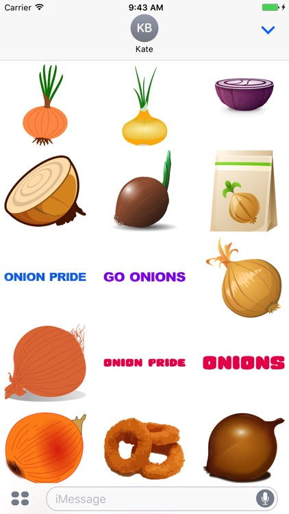 Onions Stickers