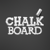 Blackboard-Chalk writing board