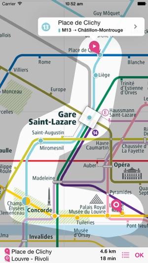 Paris Rail Map Lite On The App Store - Paris transit map