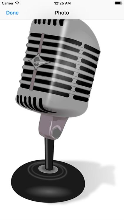 Microphone Stickers screenshot-6