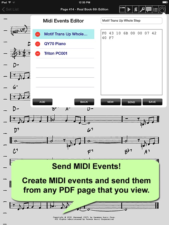 iGigBook Sheet Music Manager screenshot-4