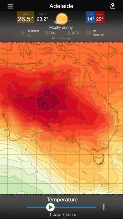AUS Radar: WeatherAlert screenshot-5