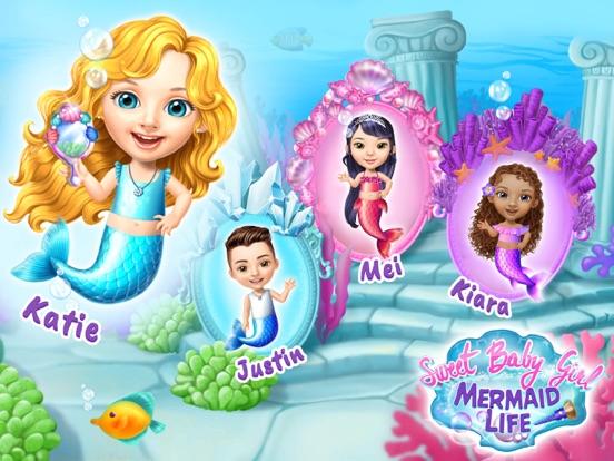 Sweet Baby Girl Mermaid Life screenshot 7