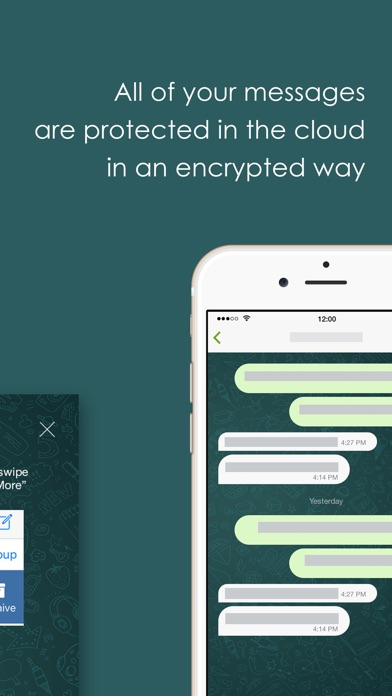 SafeLock - Encrypted messages Screenshot
