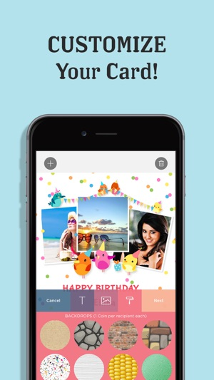 Invitation maker post cards on the app store iphone ipad stopboris Image collections