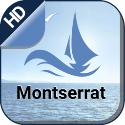 Marine Montserrat Nautical Map