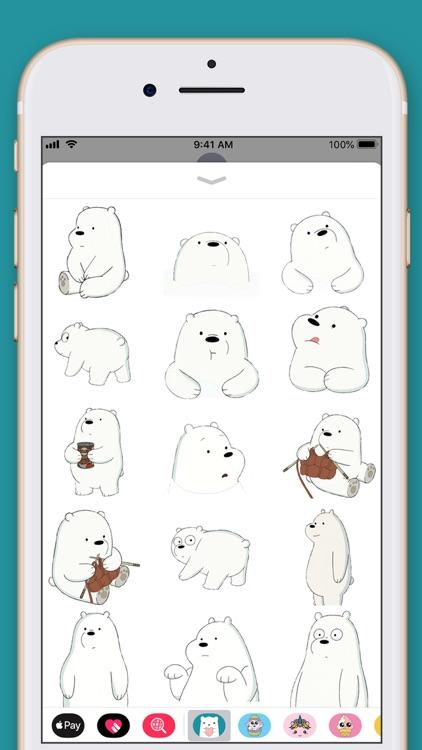 Cute Bear Kawaii Stickers screenshot-3