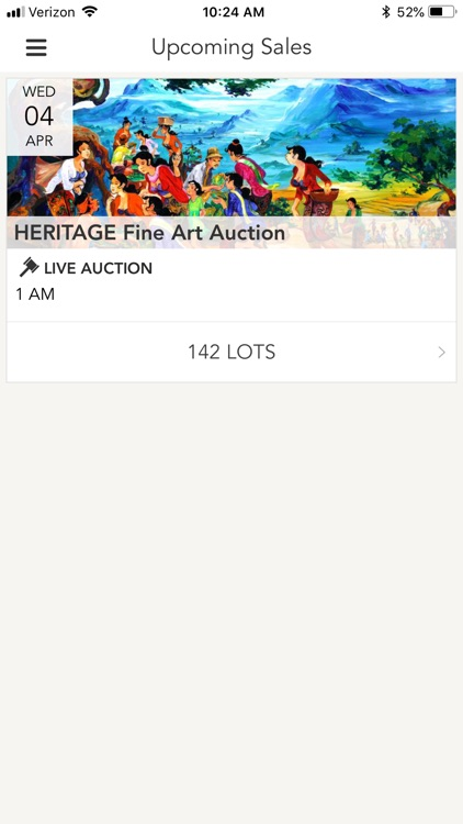 MASTERPIECE Auction