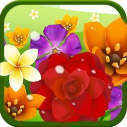 Blossom Garden Match 3 Puzzle Game!
