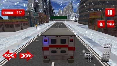 Winter Ambulance Simulator 3D Screenshot