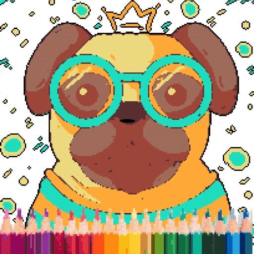 Cute Puppy Pixel Art App Data & Review - Games - Apps