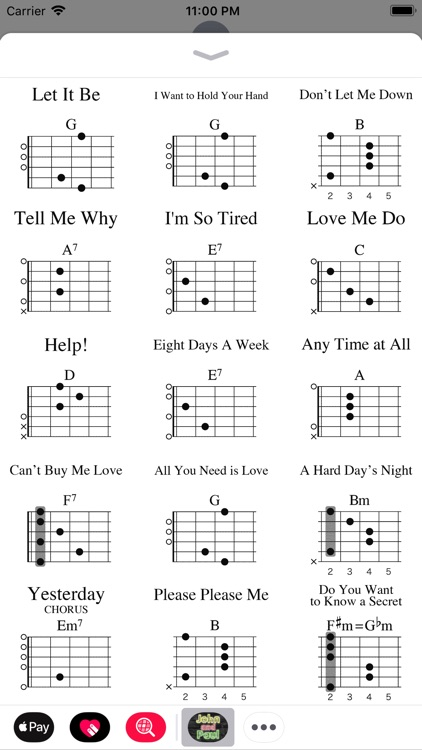 John And Paul Guitar Chords By Insideout Ltd