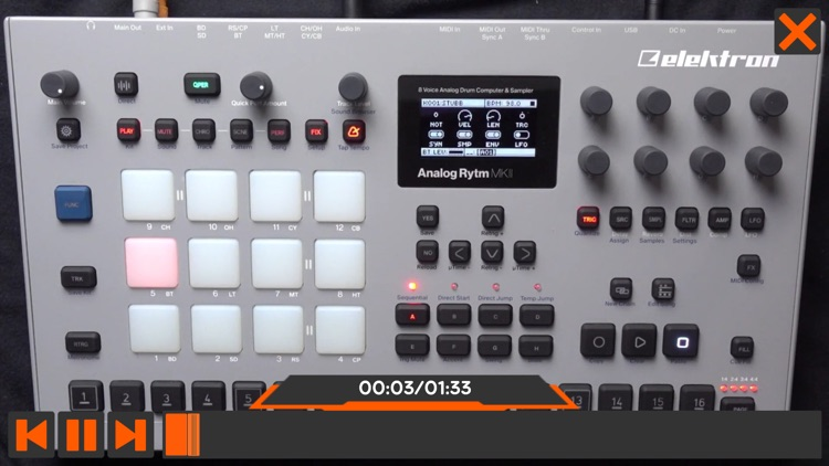 Course For Analog RYTM MKII