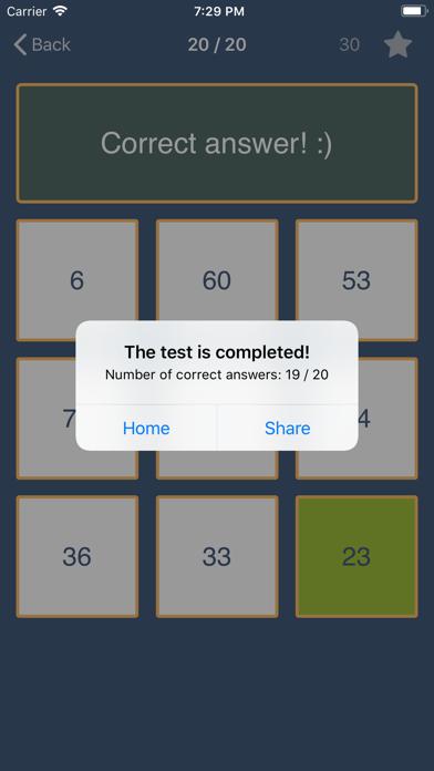 Clash of Math. Tasks and tests screenshot 5