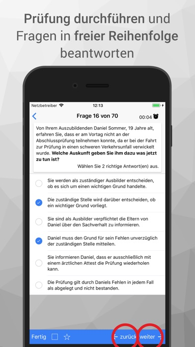 Screenshot for AEVO-Held Prüfungsvorbereitung in Kuwait App Store