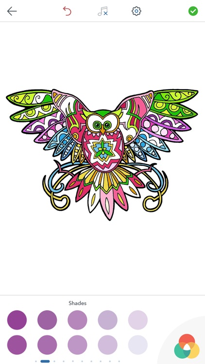Owl Coloring Pages screenshot-3