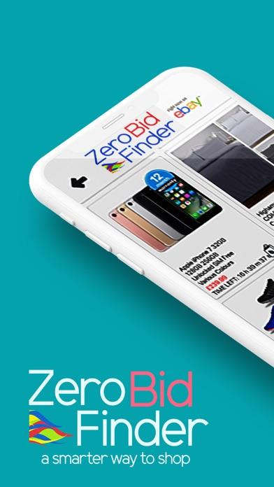 Zero Bid Finder for eBay UK screenshot one
