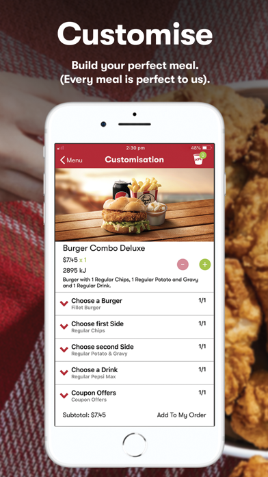 Download KFC - Order On The Go for Pc