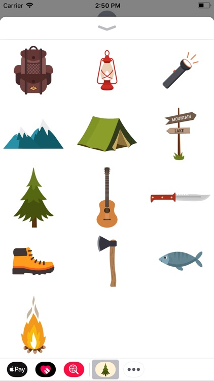 Camping Stickers